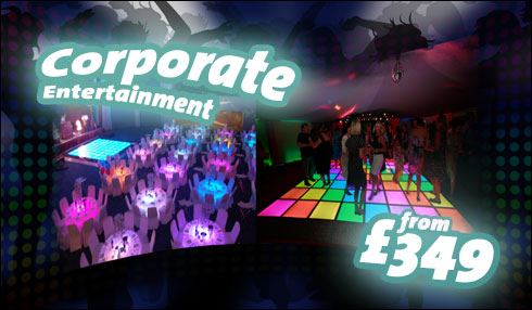 Corporate entertainment - from £349
